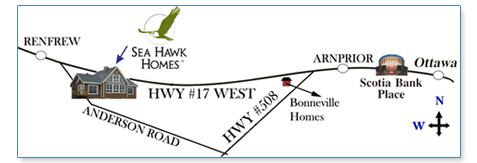 directions to Sea Hawk