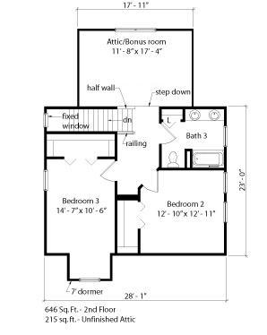 Brendal park sea hawk homes for Cardinal house plans