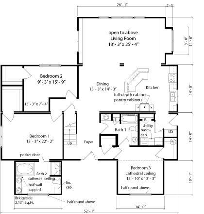 Bridgeside sea hawk homes for Cardinal house plans