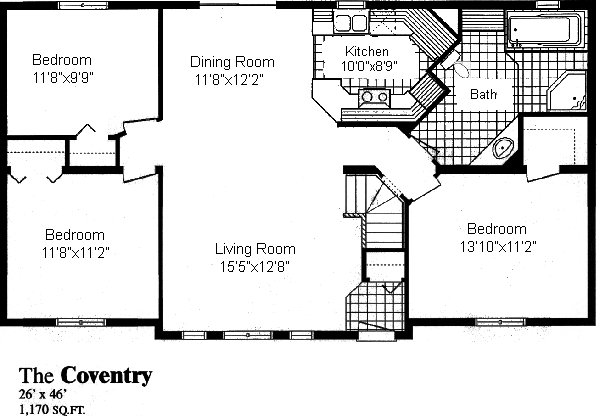 Coventry sea hawk homes for Coventry homes floor plans