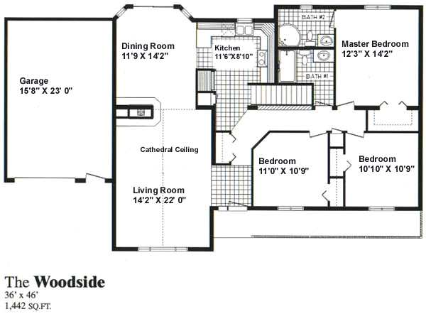 Woodside Homes Floor Plans: Woodside :: Sea Hawk Homes
