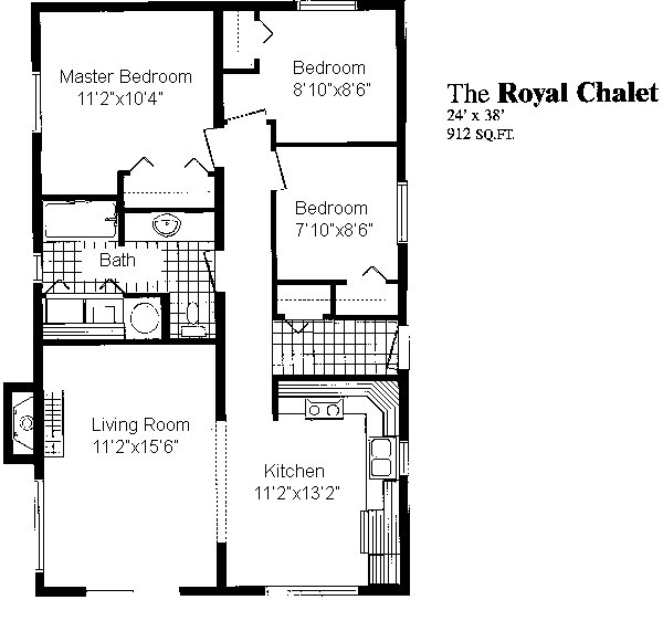 Royal Chalet Sea Hawk Homes